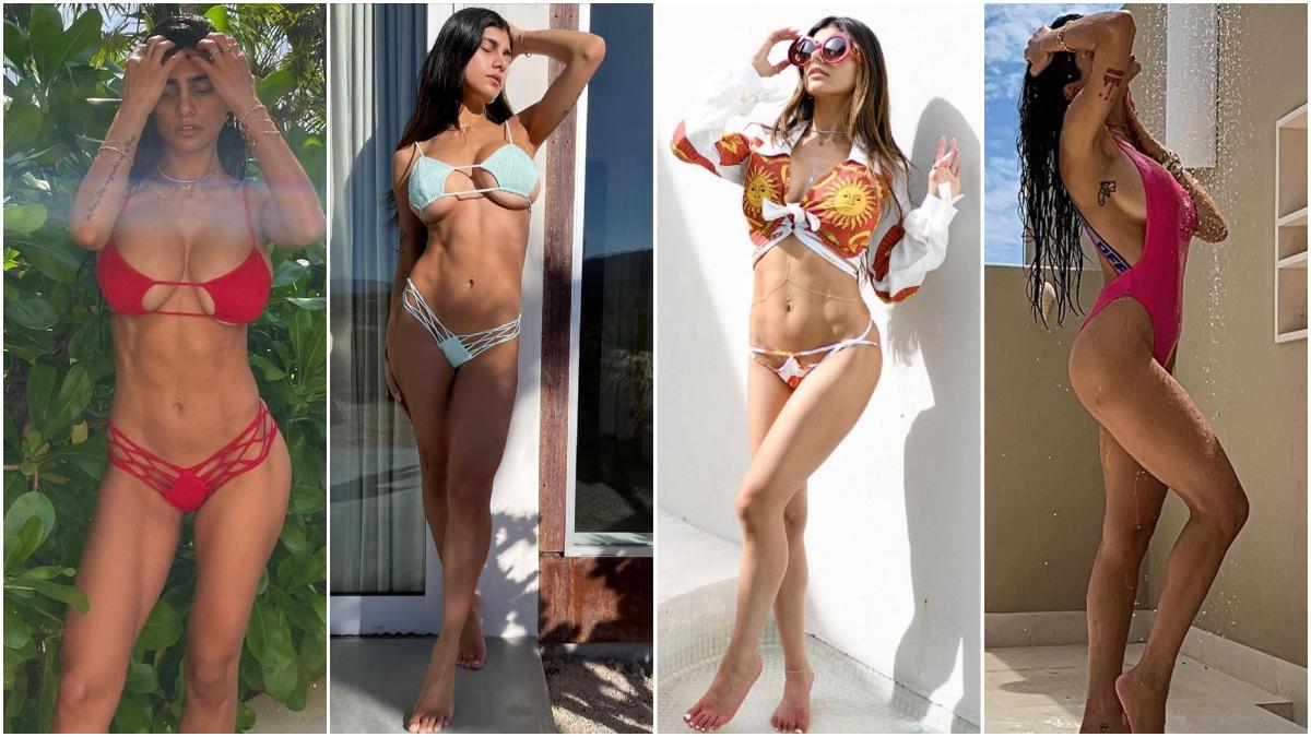 Bikini mia khalifa 60 Sexy